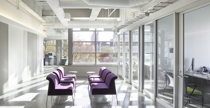 Interior View Of Myrtle Hall, The First Higher Education Green Building In  Brooklyn, And A Physical Manifestation Of Prattu0027s Commitment To Sustainable  ...