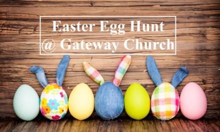 Easter Egg Hunt at Gateway Church