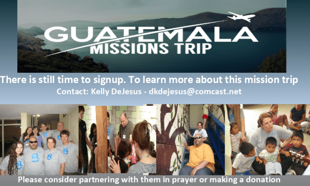 Guatemala Mission's Team Update