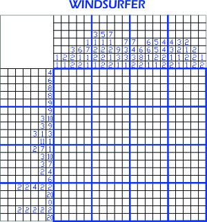 2014-07-25 Pic-a-pix - Windsurfer Puzzle - 300