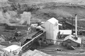The Historic Bellevue Coal Mine was established in 1903 and operated until the early 1960s.