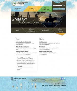 Northern Sunshine County website