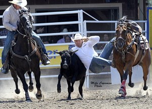 Morgan Grant  (photo by Mike Copeman, for the Calgary Stampede)