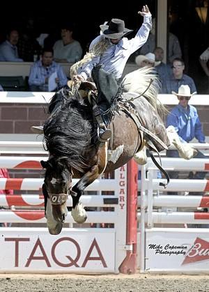 Wade Sundell (photo by Mike Copeman Photography, courtesy of Calgary Stampede)