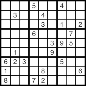 2014-08-19 Sudoku Puzzle