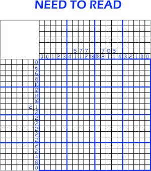 2014-08-22 Pic-a-pix puzzle