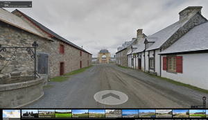 View of Fortress of Louisbourg National Historic Site Courtesy of Google Canada