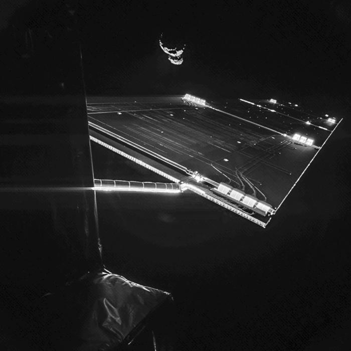 Rosetta mission - comet