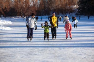 Skating party planned to celebrate the opening in the new year.
