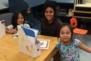 Highwood & Joe Clark ELL students share the joy of reading!