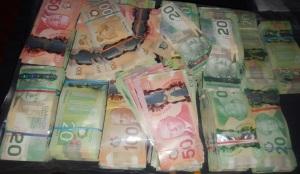 RCMP cash Calgary
