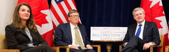 PM Harper with Gates