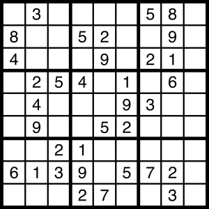 2015-04-25 Sudoku Puzzle