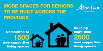 Senior spaces in Alberta