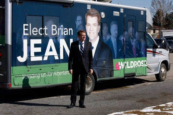 Brian Jean on Day 1 of Campaign (Wildrose Party)