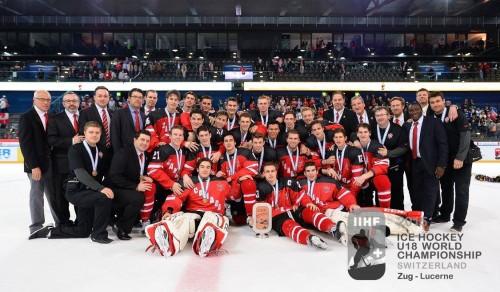 Canada at IIHF in Switzerland