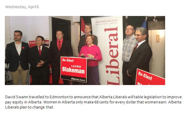 Liberal Alberta - Laurie Blakeman