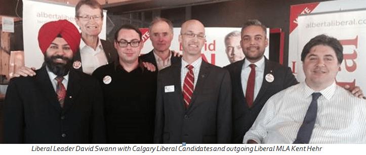 Liberal Alberta campaign trail