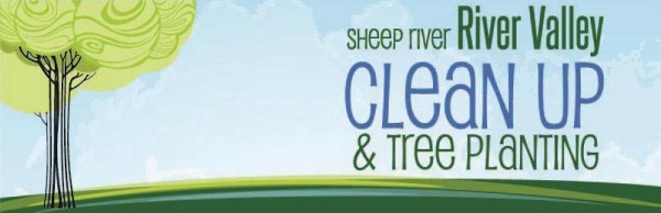 Sheep River Clean Up banner