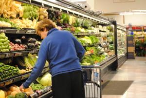 Shopping for veggies