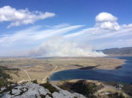 April 22: Main burn unit ignited