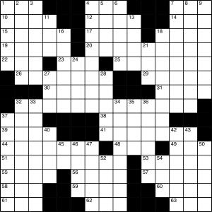 2015-05-16 Crossword Puzzle