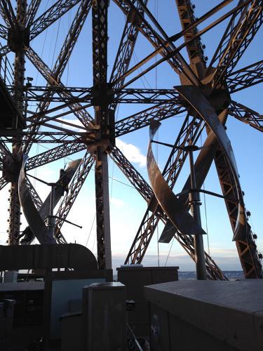 Eiffel Tower Wind Turbines