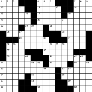 2015-09-12 Crossword Puzzle