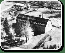 Old Photo of Creamery in Okotoks
