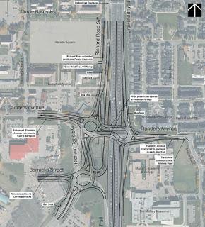 Crowchild/Flanders Avenue Interchange final design