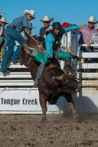 Brian Hervey on his win at Longview Bull Riders Canada Challenge! Photo by Jack Vanstone/Legendary Photoworks