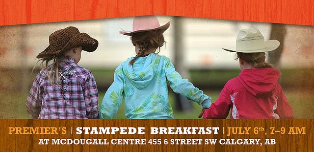 Premiers Stampede Breakfast