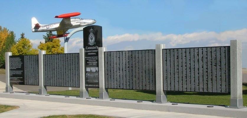 Memorial Wall - Nanton Museum