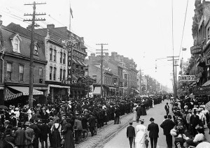 A Labour Day parade in Toronto, Canada in 1900 (City of Toronto Archives)