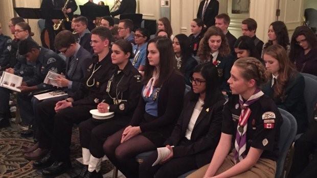 Duke of Edinburgh awards Calgary Nov 2015 1