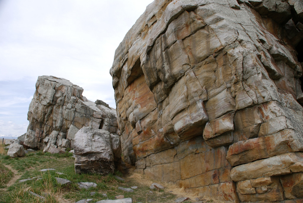 """Sacred to the First Nations of southern Alberta, the Okotoks Erratic is a seven-million-kilogram glacial erratic. The """"Big Rock"""" has been digitally recorded and preserved as part of the CyArk 500 listing of the world's most significant heritage sites."""