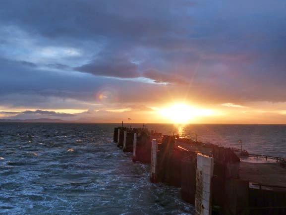 FF - sunset at pier