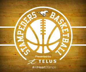 Stamps Basketball presented by Telus