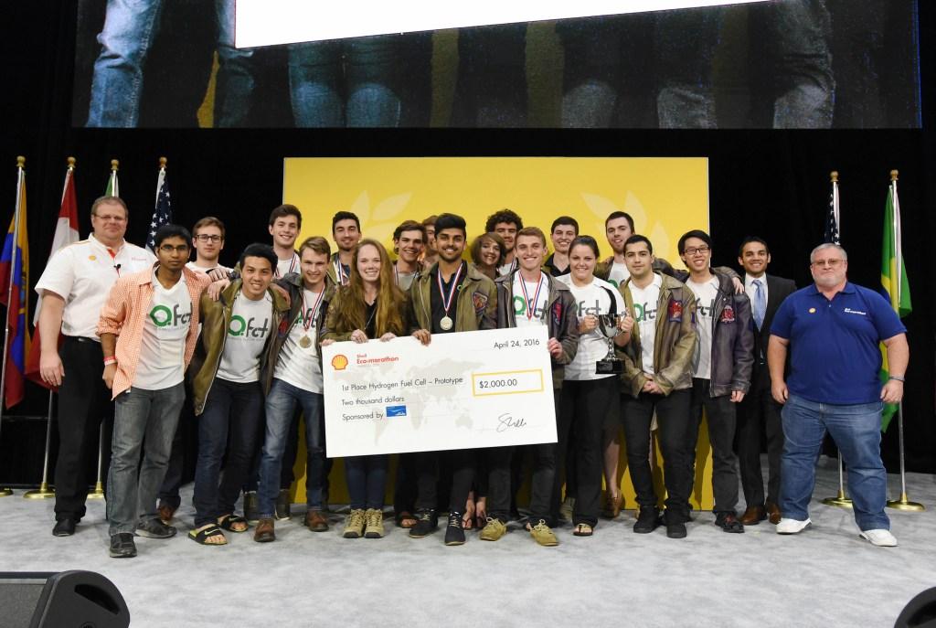 Queen's University - winners