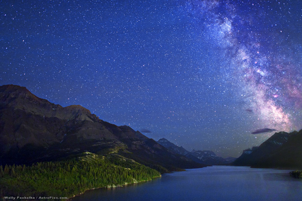 Waterton Milky Way