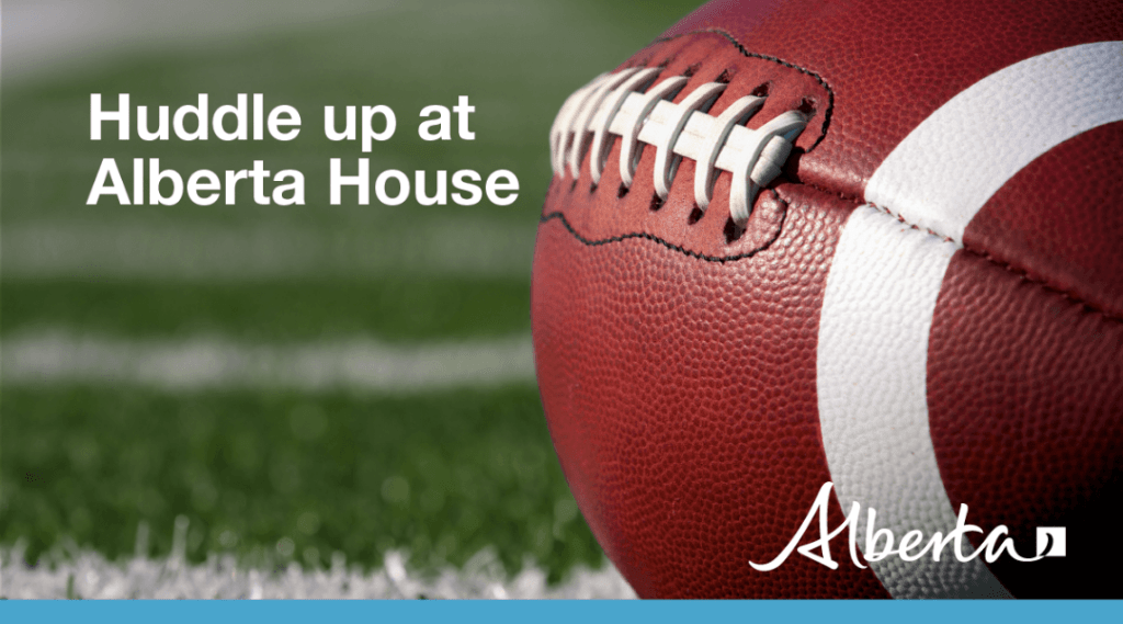 Grey Cup Festival kickoff at Alberta House