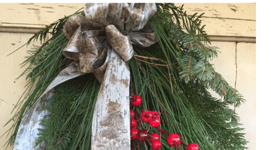 Millarville Horticultural Club: Christmas Door Swag Workshop