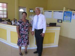 Sis. Banfield and Pastor Banfield