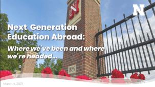 Next Generation Education Abroad