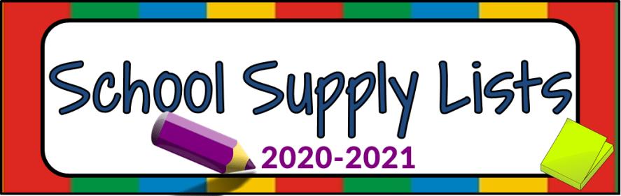 supplies banner