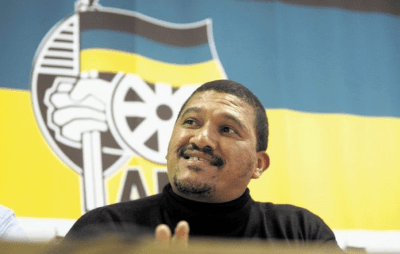 """Said ANC Western Cape chairman Marius Fransman: """"For us there is an important role [for the church]. We joined the struggle through our involvement with the church. (Times Live File photo - Image by: SHELLEY CHRISTIANS)"""