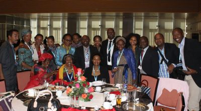 The South African delegation.