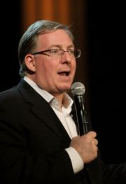Joel Rosenberg speaks at the National Religious Broadcasters' International Media Conference in Nashville, Tennessee, February 24, 2015.(PHOTO: National Religious Broadcasters).