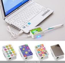 USB toothbrush cleaner, comes in many colorful styles!