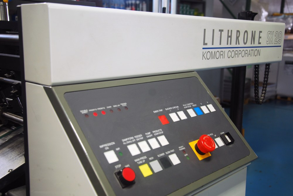 Komori Lithrone 629